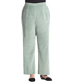 Alfred Dunner Plus Size Stretch Corduroy Pants