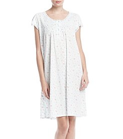 Miss Elaine Silky Floral Nightgown