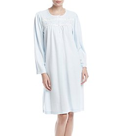 Miss Elaine Embroidery Lace Detail Nightgown