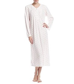 Miss Elaine Long Floral Nightgown