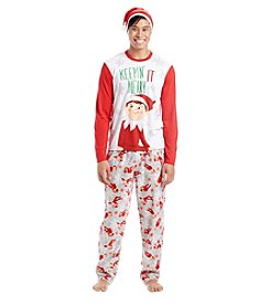 Briefly Stated Men's Elf Pajama Set