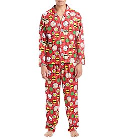 Briefly Stated Men's Peanuts Pajama Set