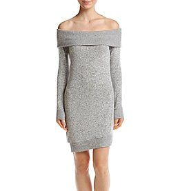 William Rast Kennedy Off The Shoulder Sweater Dress
