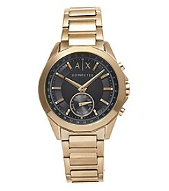 A|X Armani Exchange Men's Goldtone Drexler Watch