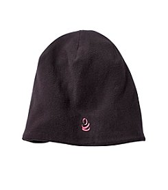 Cuddl Duds Girls' Reversible Fleece Beanie