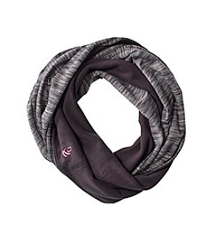Cuddl Duds Girls' Fleece Reversible Infinity Scarf
