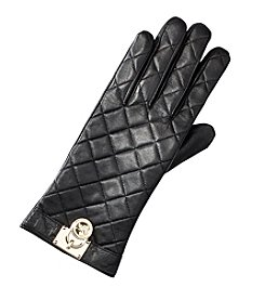 MICHAEL Michael Kors Women's Quilted Gloves