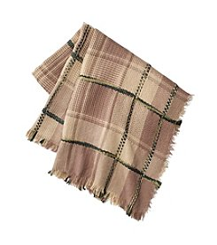 Collection 18 Girls' Roadtrip Check Square Scarf