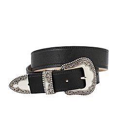 Fashion Focus Girls' Tumbled Belt