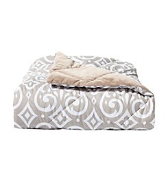 Living Quarters Medallion Reversible Down Alternative Throw