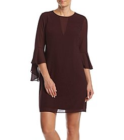 Vince Camuto Bell-Sleeve Dress