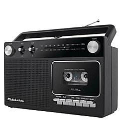 Studebaker Portable Cassette Player and Recorder with AM/FM Radio