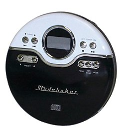 Studebaker Personal Jogging CD Player with FM Radio