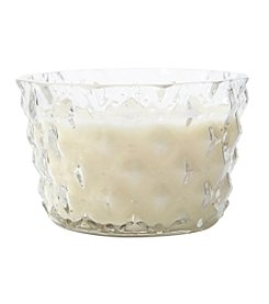 Artisan 12-oz. Clear Global Faceted Candle