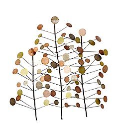 Stratton Home Decor Metal Branch with Circles Wall Decor