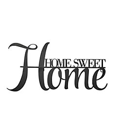 Stratton Home Decor Metal Home Sweet Home Wall Decor