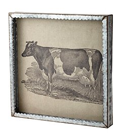 Farmhouse Galvanized Cow Wall Decor