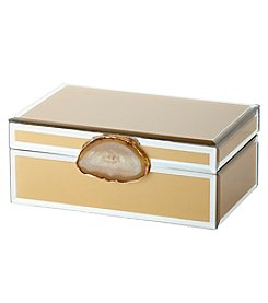 Artisan Amber Decorative Box