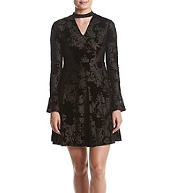 Ivanka Trump® Crushed Velvet Dress