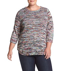 Studio Works Plus Size Crewneck Sweater