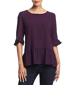 Cupio Flutter Sleeve Top