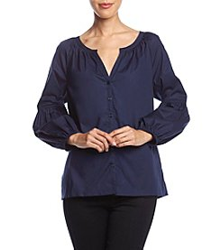 Cupio Bishop Sleeve Tunic Top