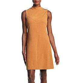 Ivanka Trump Button Detail Shift Dress