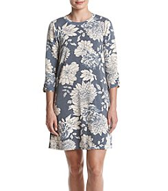AGB® Floral Shift Dress
