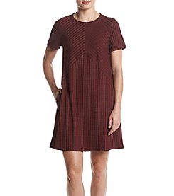 AGB® Rib Knit T-Shirt Dress