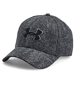 Under Armour® Printed Blitzing Stretch Fit Cap