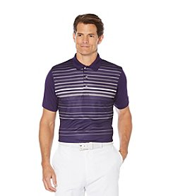 PGA TOUR®Short Sleeve Printed Laser Polo