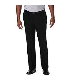 Haggar® Men's Big & Tall Cool 18 Pro Pleated Pants