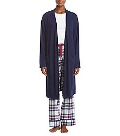 Tommy Hilfiger Cozy Long Sleeve Pajama Top