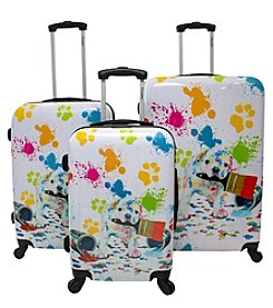 Chariot® Paint 3-Piece Luggage Set