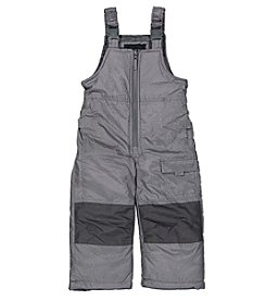 London Fog® Baby Boys' Crosshatch Ski Bibs