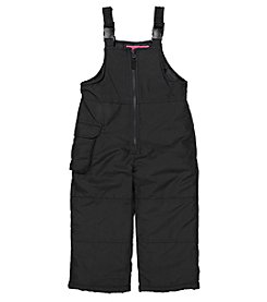 London Fog® Girls' 2T-16 Snow Bibs