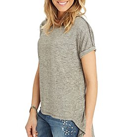 Democracy Beaded Trim Top