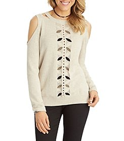 Democracy Cold Shoulder Sweater