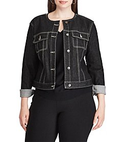 Chaps Plus Size Denim Jacket