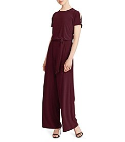 Lauren Ralph Lauren® Cold Shoulder Jumpsuit