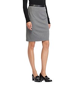 Lauren Ralph Lauren Chevron Pencil Skirt