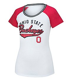 J. America NCAA® Ohio State Buckeyes Women's All Star Raglan Shirt