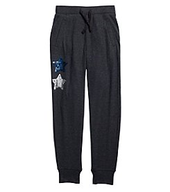 Jessica Simpson Girls' 7-16 Mae Stars Jogger Leggings