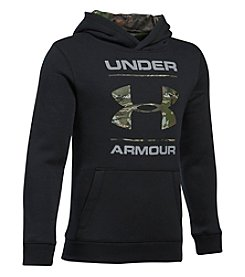 Under Armour Boys' 8-20 Rival Camo Fill Hoodie