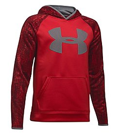 Under Armour® Boys' 8-20 Big Logo Printed Hoodie