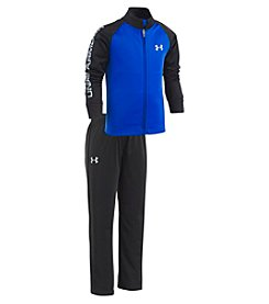Under Armour® Boys' 4-7 Legendary Track Set