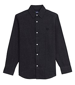 Chaps Boys' 4-20 Long Sleeve Woven Shirt