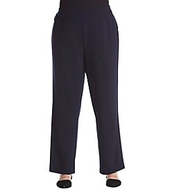 Studio Works Plus Size Straight Leg Pants
