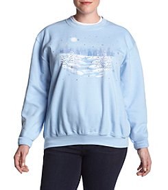 Morning Sun Plus Size Winter Brook Sweater