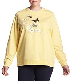 Breckenridge Plus Size Woodland Butterflies